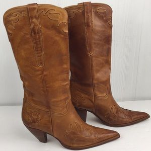 Lucchese Charlie 1 Horse Heeled Western Boots 10